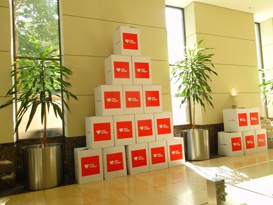 Funcionários do Banco Daycoval, SP, doam mais de 10 toneladas de alimentos
