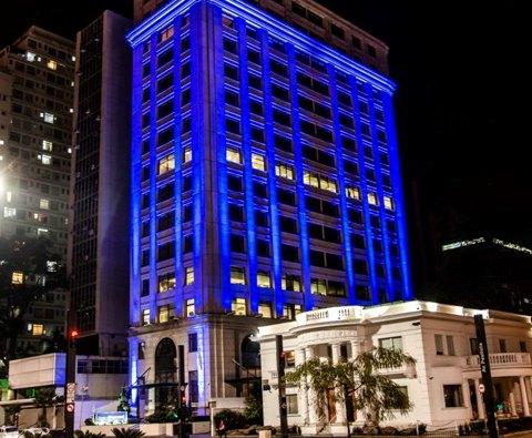 Banco Daycoval fica azul em prol à Campanha de prevenção ao Câncer de Próstata