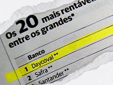 Daycoval: primeiro lugar no ranking de bancos por rentabilidade