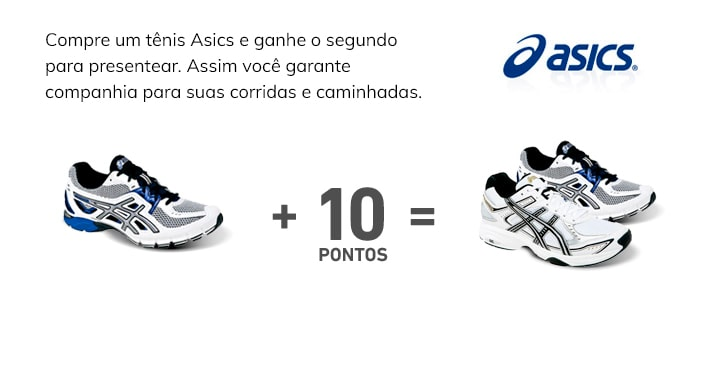 Asics - Compre 1 leve 2
